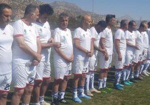 دیدار پیشکسوتان دیشموک و تیم ملی فوتبال در دیشموک/اقدام بینظیری ورزشی بعد از انقلاب در دیشموک+تصاویر