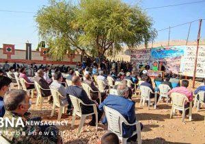 یادواره ۱۱۱ شهید بخش سپیدار با حضور استاندار/گزارش تصویری