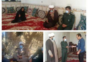 دیدار امام جمعه وفرمانده حوزه بسیج دیشموک با خانواده های شهدا+تصاویر