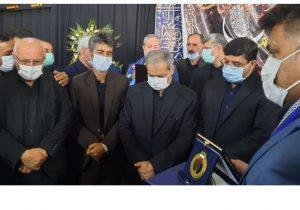 حضور کاظمی بر سرمزار دانش آموز ایذهای/ حرکت شهید علی لندی دلاوریهای خوزستان را زنده کرد