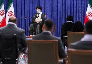 دیدار مدالآوران المپیک و پارالمپیک با رهبر انقلاب/ تأکید حضرت آیتالله خامنهای بر رسیدگی به معیشت قهرمانان