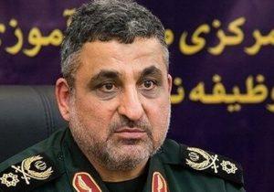 سردار «سید مهدی فرحی» جانشین وزیر دفاع شد