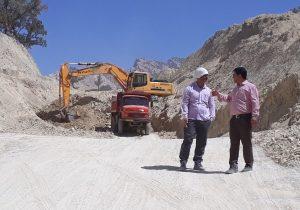 پیشرفت۵۰درصدی خاکبرداری و بازگشایی پروژه میلیاردی (دَم روداَیُک_دلی)/تقدیر از پیگیریهای (حجت الاسلام موحد)+تصاویر