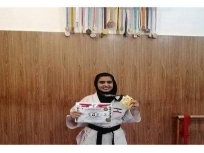 دختر کاراتهکای قهرمان جهان شد