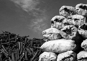 کشف ۲۷کیسه زغال در دیشموک
