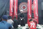 عزاداری شب رحلت نبی اکرم(ص) و شهادت امام حسن(ع) در دیشموک+تصاویر